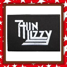 🇨🇦 Thin Lizzy Rock Punk Patch Embroidered Sew On/stick On Cloth/new 🇨🇦