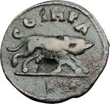 CARACALLA 198AD Parium Parion Mysia Authentic Ancient Roman Coin WOLF i65169