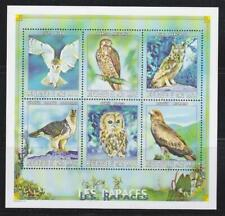 MALI 1999  BIRD STAMPS BIRDS OF PREY EAGLES OWLS MNH - BIRDL482