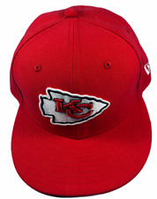 Kansas City Chiefs NFL New Era 59FIFTY Size 6 3/4 Fitted Hat Brand New
