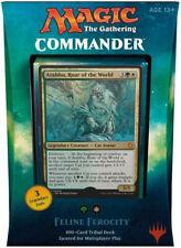 Magic: The Gathering MTG Commander 2017 Deck - Feline Ferocity