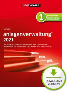 Lexware Anlagenverwaltung 2021 (Abo-Version) als Downloadversion v. Fachhändler