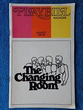The Changing Room - Morosco Theatre Playbill - May 1973 - John Lithgow