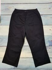 Small Mimi Maternity Capri Length Dress Pants Black