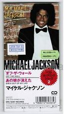 "Sealed MICHAEL JACKSON Off The Wall  JAPAN 3"" CD 10.8P-3045 w/1988 PROMO STICKER"
