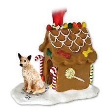 Australian Cattle Dog Red Dog Ginger Bread House Christmas Ornament