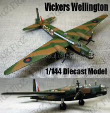 WWII British Vickers Wellington bomber aircraft 1/144 plane diecast model