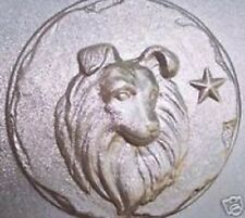 """Collie / sheltie dog mold over 1"""" thick"""