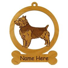 Australian Terrier Standing Ornament 081424 Personalized With Your Dog's Name