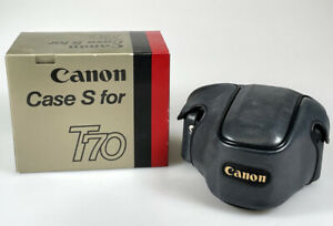 Genuine Vintage Canon Leather Case S For T70  Film Camera
