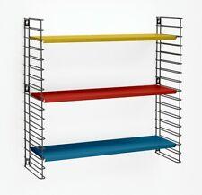 Étagères modulaires TOMADO en Metal, Bibliothèque Tricolore, 70 x 21 x 68 cm