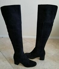 Sam Edelman ELINA Women US 7.5  Black Over the Knee Boot Excellent Current