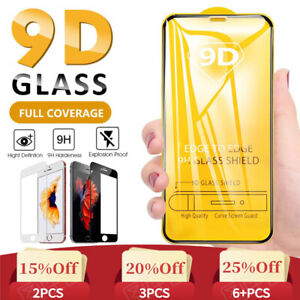 Tempered Glass Screen Protector For Apple iPhone 11 Pro Max XS Max XR 6 6S 7 8