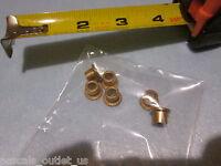 5 pcs Mini Steel FLANGED bushings 3120-00-864-5913 SLEEVE NAS77