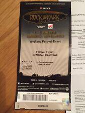 Rock im Park Full Weekend + Camping