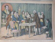 1927 NAPOLEON BONAPARTE ALEXANDRE VOLTA DEMONSTRATION PILE ELECTRIQUE