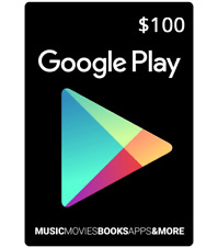 google play 100 usd card ,music book game movies apps and more only for test mai