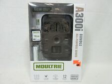 Moultrie A-300i 12MP Trail Camera Bundle Invisible Flash