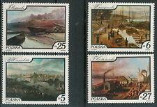 Poland stamps MNH (Mi. 2921-24) Vistula paintings