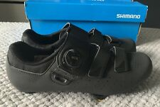 Shimano RP4 SPD Road Cycling Shoes Size 42 8 Black,Worn Briefly Once So Look New