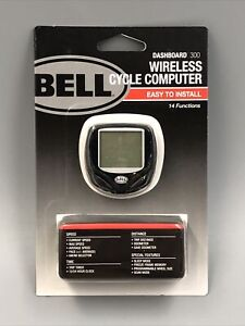 Bell Bicycle Dashboard 300 Wireless Cycle Computer - 14 Functions Brand New!
