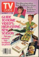 TV Guide Magazine Jul. 28-Aug. 3 1990 Peter Pan Rue McClanahan 090917nonjhe