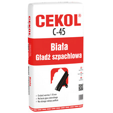 CEKOL C-45 - WHITE PLASTER FINISHING 1KG