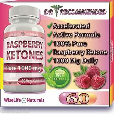 Natural  RASPBERRY KETONES  PURE 500mg Fresh Ketone Plus Max Fat Burn Pills>