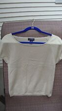 ANN TAYLOR, SHORT SLEEVES TOP, SIZES M , EXCELLENT CONDITION