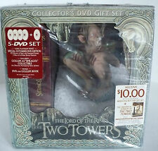 DVD The Lord of the Rings: The Two Towers w Gollum Figurine Collector's Gift Set