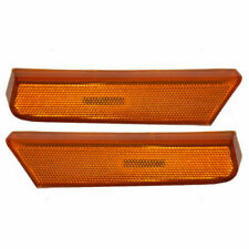 FITS FOR XTERRA 2002 2003 2004 FRONT BUMPER REFLECTOR LAMP RIGHT & LEFT PAIR SET