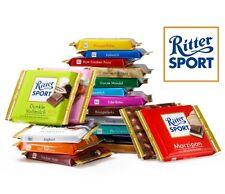 Ritter Sport chocolate -  four (4) panels - original german brand