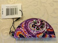 NWT Vera Bradley Iconic Cord Keeper Case Charger Cellphone in Dream Tapestry