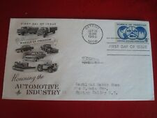 UNITED STATES - 1960 WHEELS OF FREEDOM - FIRST DAY COVER - EXCELLENT CONDITION