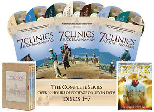 "7 Clinics with Buck Brannaman Complete Set Vols 1-7 + Bonus movie ""Buck"" FREE!"