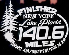 2018 Or Any year Ironman Lake Placid Triathlon Finisher Decal Sticker