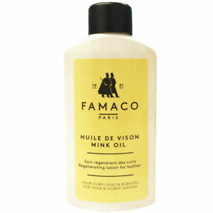 Deep Nourishing Mink Oil Regeneration Lotion Thick Sturdy Leather Care By Famaco