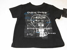 Boys Baby Kenneth Cole Reaction t shirt 12M MO months NEW black guitar times