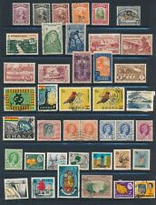 Africa *115 Mh & Used (1931-1980)* Incl Sarawak, Kenya, Ghana & More Cv $60+