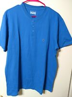 Men's Large Henley Short Sleeve New