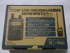 Icom IC-R6 Wide Band Communication Handy Receiver From Japan F/S EMS