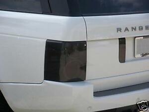 03-12 RANGE ROVER SMOKE TAIL LIGHT PRECUT TINT COVER SMOKED OVERLAYS