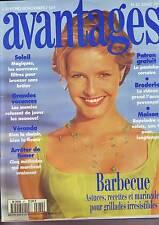 Avantages N°  82 - juillet 1995 - patron : pantalon corsaire -