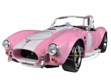 1965 SHELBY COBRA 427 S/C PINK WITH CARROLL SHELBY SIGNATURE 1/18 SC114