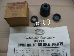 1937 -41 MASTER CYLINDER KIT DODGE PLYMOUTH CHRYSLER DESOTO MOPAR BRAKE