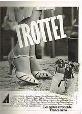 Publicité Advertising 1979 Les Chaussures escarpins France Arno