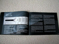 Lexicon 2005 audio full product line brochure catalogue