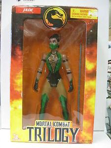 Mortal Kombat Trilogy Jade Figure 1998 - NEW Toy Island