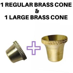 Regular & Large Bonza Bucket Brass Cone Piece - Metal Cones - Billy CP AUS STOCK