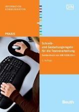 Schreib- und Gestaltungsregeln für die Textverarbeitung (2011, Taschenbuch)